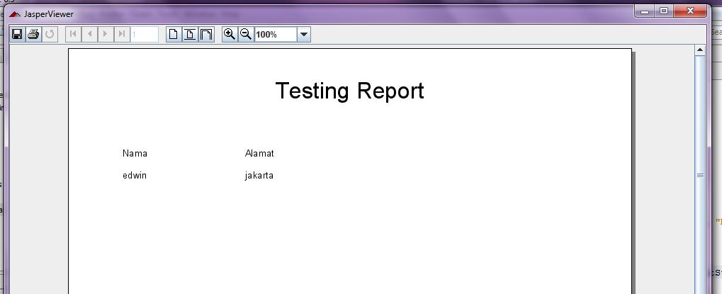 report jasper