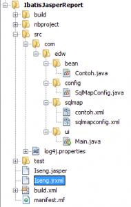Netbeans 6.9 file structure