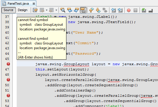 How To Fix Netbeans Grouplayout Incompatibility With Java 50 And